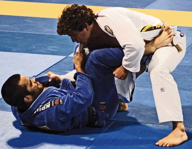 Roberto Torralbas Competing at the Brazilian Jiu Jitsu (BJJ) World Championships 2011