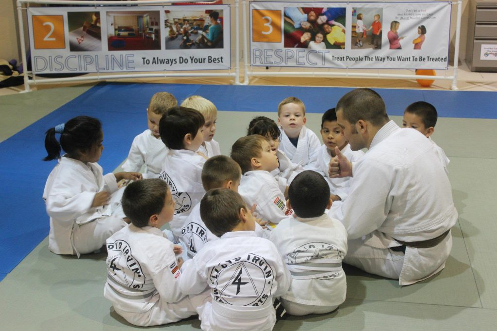 Tiny BJJ Ninjas In Naples, FL Being Super Focused