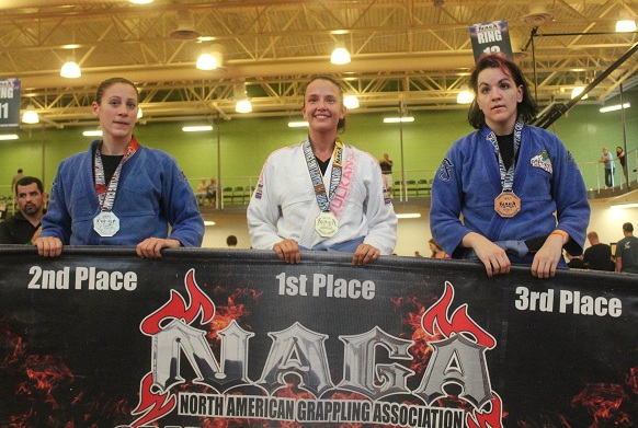 Katy Torralbas wins gold at NAGA