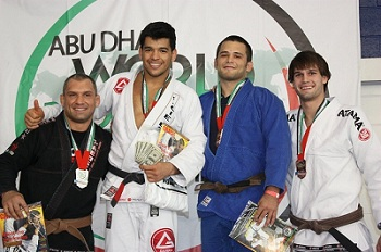 Master Roberto gets bronze in Abu Dhabi brown and black division