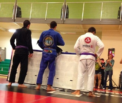 Team Third Law Joey Ruggerio wins NAGA purple belt division