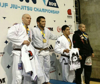 Master Roberto wins gold at pan ams 2013 from naples brazilian jiu jitsu